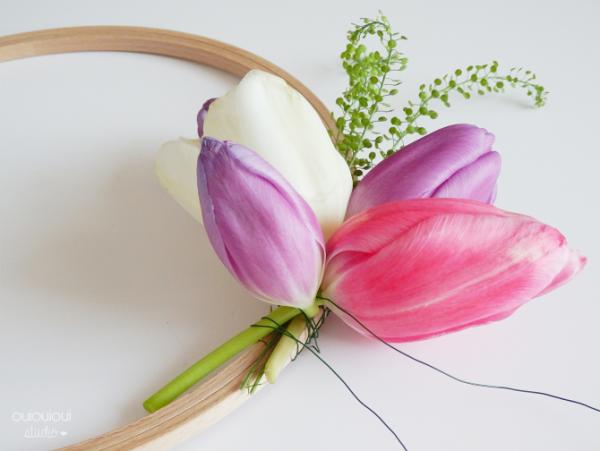 λουλουδια στεφανι